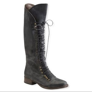 Joie Refugee Lace Up Combat Boots